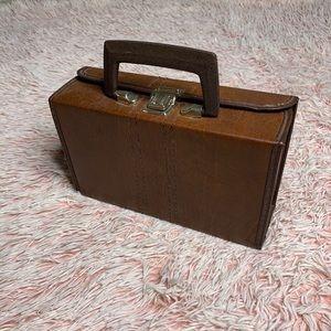 ✨ Vintage Small Briefcase Handbag